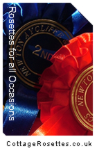 Rosettes for all your Shows